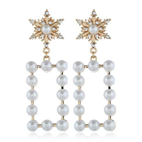 Fashion alloy beads earrings NHVA142059's discount tags