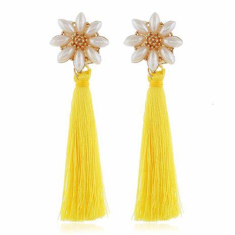 Fashion vintage beads tassel earrings NHVA142076's discount tags