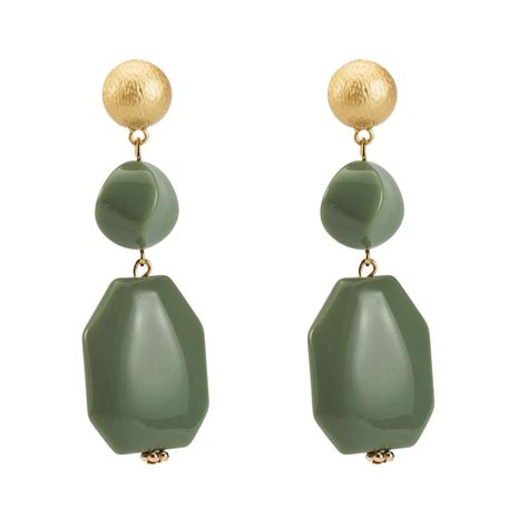 Fashion multilayer resin earrings NHJE142088's discount tags
