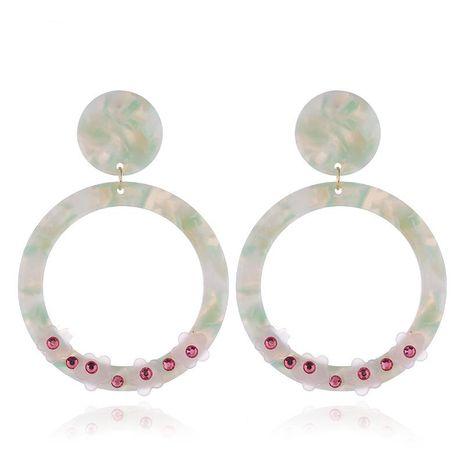 Fashion Acrylic Flower Earrings NHVA142102's discount tags