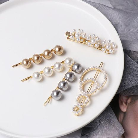 Tarjeta clip hembra perla flor NHJJ142120's discount tags