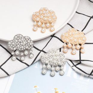 Vintage Drops Alloy Beads Stud Earrings NHJJ142151's discount tags