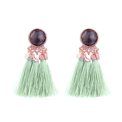 Vintage personality with tassel earrings NHQD142230's discount tags