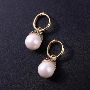 Aretes de aleación de diamantes geométricos para mujeres NHQD142275's discount tags