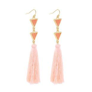 Pendientes largos con borlas vintage para mujer NHQD142315's discount tags