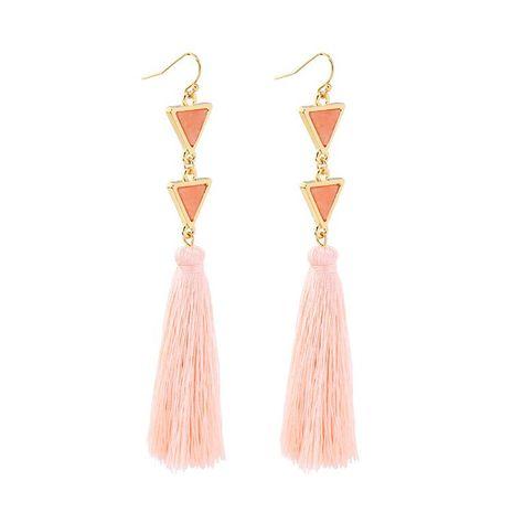 Vintage long ladies tassel earrings NHQD142315's discount tags