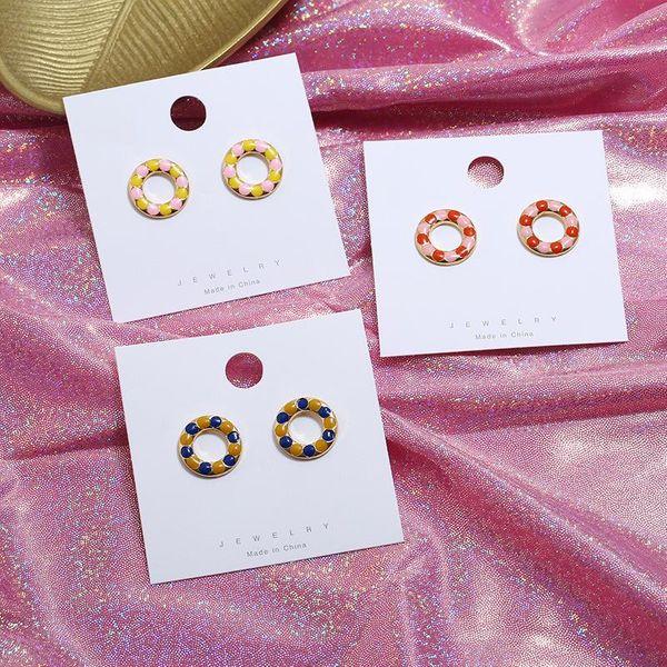 Simple style acrylic alloy earrings NHKQ142468