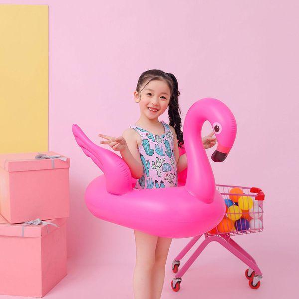 Fashion baby inflatable flamingo sitting ring NHWW142488