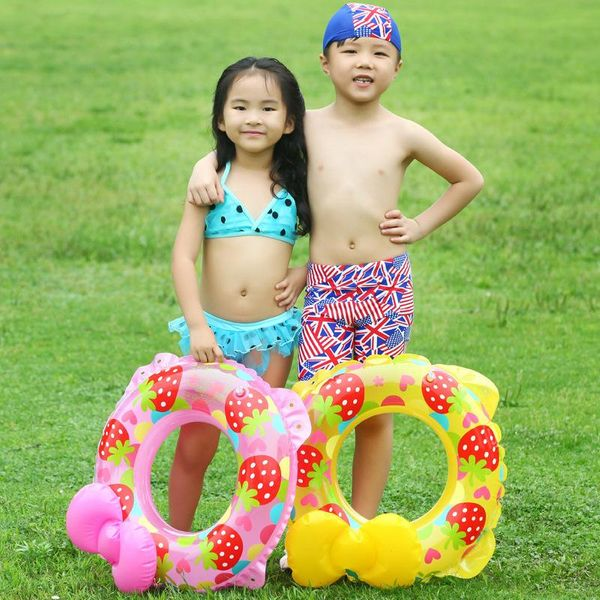 Inflatable explosion bow swimming ring NHWW142510