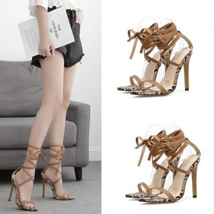 Sexy cross straps with high heel fashion sandals NHSO142542's discount tags