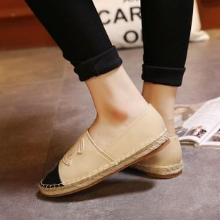 Fashion flat and comfortable casual women's shoes NHHU142594's discount tags