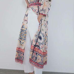Fashion autumn print ethnic style dress NHAM142630's discount tags
