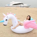PVC inflatable super large unicorn inflatable rainbow horse floating row NHWW142496