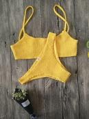 Fashion sexy split bikini NHNM142693
