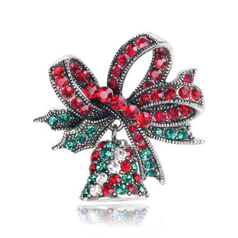 Broche de campana de navidad vintage NHDR142874's discount tags