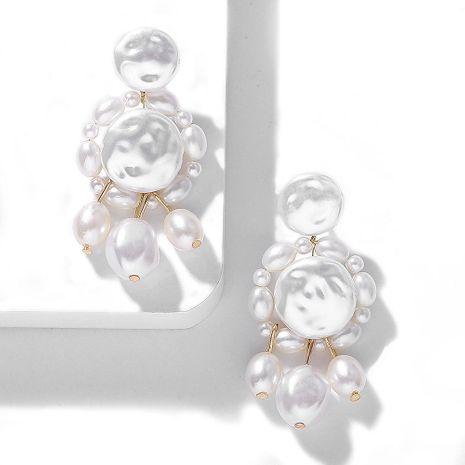 Aretes de perlas en forma de moda NHJQ143141's discount tags