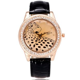 Explosive Leopard-studded Watch NHSY143342's discount tags