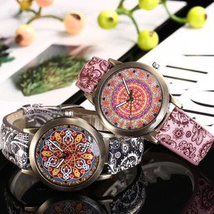 Fashion flower dial ladies belt watch NHHK143359's discount tags