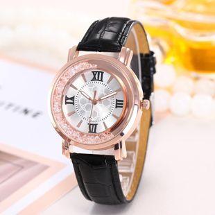 Fashion Roman Quicksand Quartz Belt Watch NHHK143363's discount tags