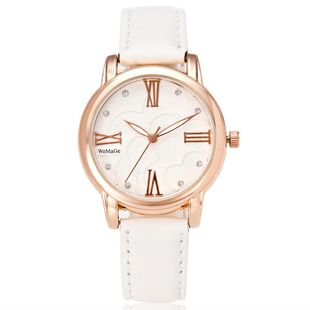 Korean fashion trend small dial quartz fashion watch NHSY143364's discount tags