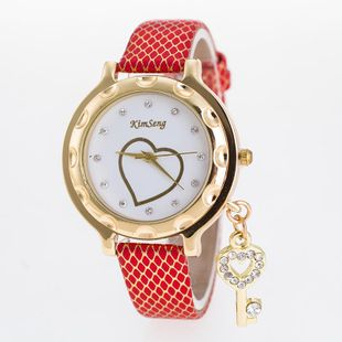Pop Heart Key Decoration Pendant Ladies Watch NHSY143373's discount tags
