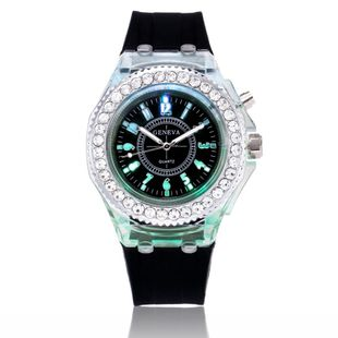 Fashion trend men and women luminous couple watches NHSY143381's discount tags