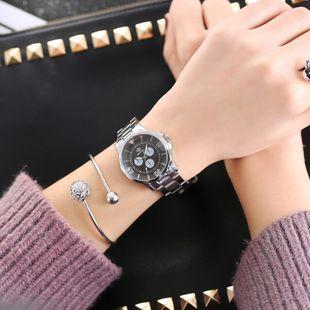 Simple scale Swiss alloy quartz watch NHHK143403's discount tags