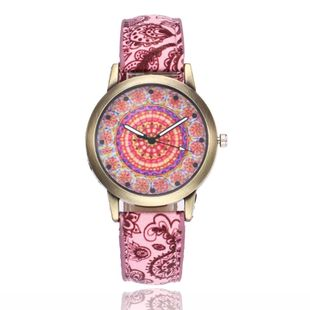 Popular bohemian print belt watch NHSY143411's discount tags