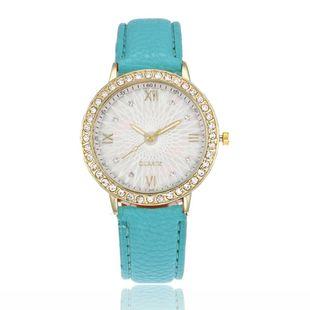 Fashionable full rhinestone shiny quartz belt watch NHSY143412's discount tags