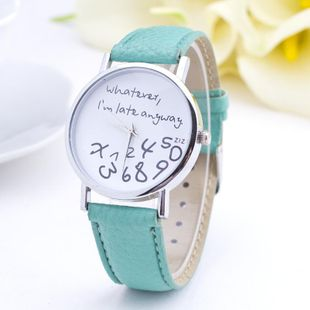 Fashion simple ladies watch NHSY143440's discount tags