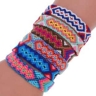 Vintage ethnic wind woven bracelet NHPK143443's discount tags