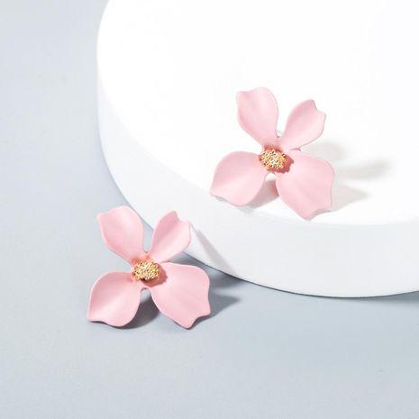 Sweet flowers stud earrings NHLN143534's discount tags