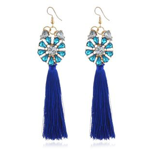 Aretes de borla de diamantes de moda NHVA143538's discount tags