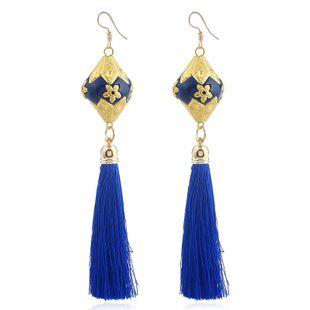 Aretes de esmalte de arcilla de aleación de moda para mujer NHVA143570's discount tags