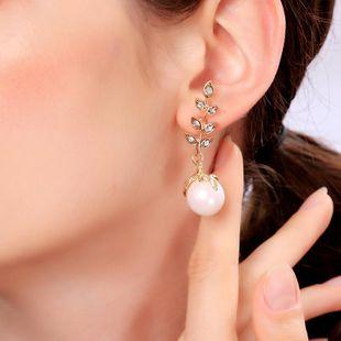 Pendientes de perlas de moda europea y americana NHQD143833's discount tags