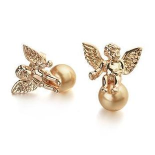 Fashion Lucky Little Angel Beads Earrings NHLJ143914's discount tags
