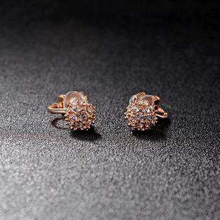 Fashion Austrian Imitated crystal Ball Earrings NHLJ143915's discount tags