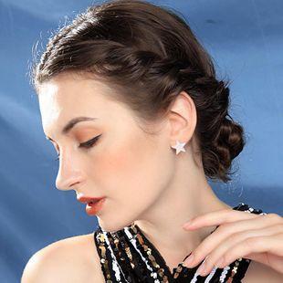 Fashion simple star acrylic earrings NHQD143918's discount tags