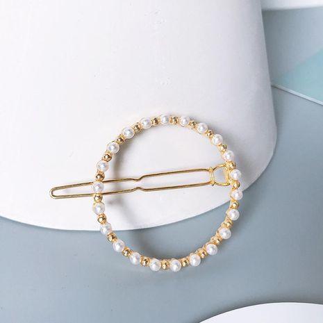 Fashion Love Bow Beads Hair Clip NHNZ143919's discount tags