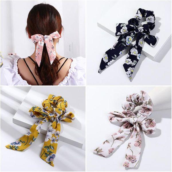 Fashion small fresh chiffon floral bow hairline NHNZ143922