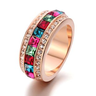 Fashion vintage imitated crystal ring NHLJ143925's discount tags