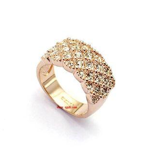 Fashion luxury full rhinestone alloy ring NHLJ143933's discount tags