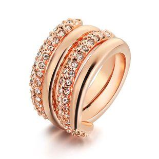 Fashion spiral waltz rhinestone ring NHLJ143938's discount tags