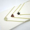 Womens Star Copper Necklaces NHLJ143894