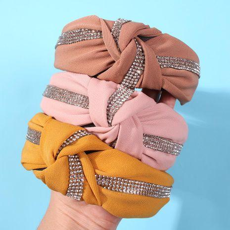 Tela de moda con diadema multicolor NHMD144605's discount tags