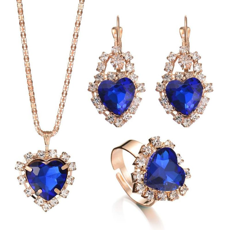 Womens Rhinestone Alloy Jewelry Sets NHBQ144615