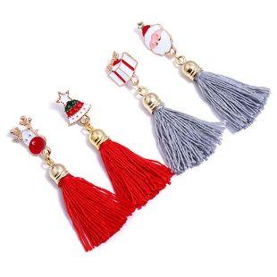 New Christmas tassel earrings NHNZ144647's discount tags