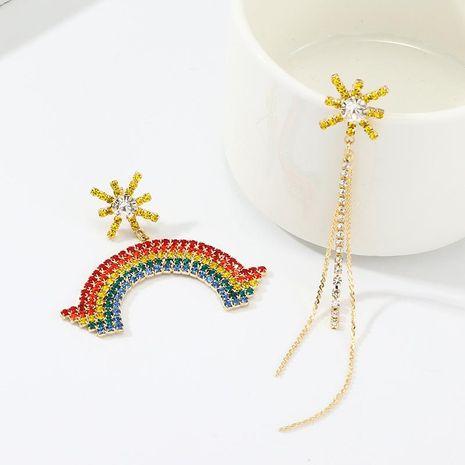 Nouvelles boucles d'oreilles à strass NHNZ144744's discount tags