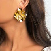 Boucles d'oreilles fleur en alliage de mode NHNZ144746