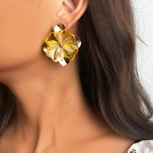 Fashion alloy flower earrings NHNZ144746's discount tags